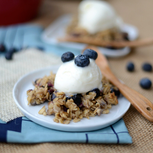 Healthy Blueberry Cobbler  Healthy Blueberry Cobbler Fit Foo Finds