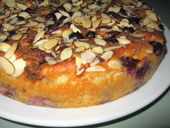 Healthy Blueberry Coffee Cake  Healthy Blueberry Almond Cake