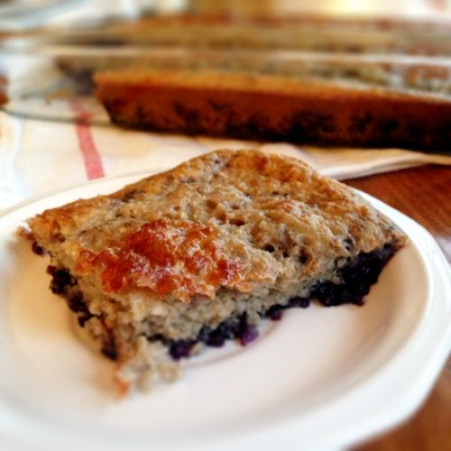 Healthy Blueberry Coffee Cake  Healthy Sugar Free Blueberry Coffee Cake