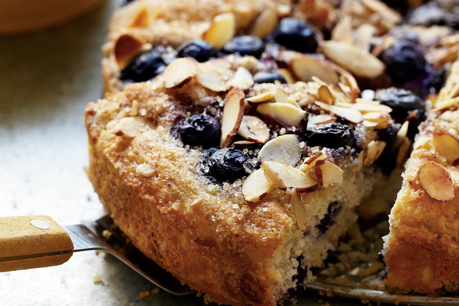 Healthy Blueberry Coffee Cake  Blueberry Coffee Cake Healthy Breakfast Recipes