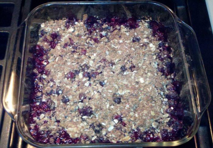Healthy Blueberry Dessert Recipes  Blueberry Crisp is a Healthy Dessert Recipe A Market