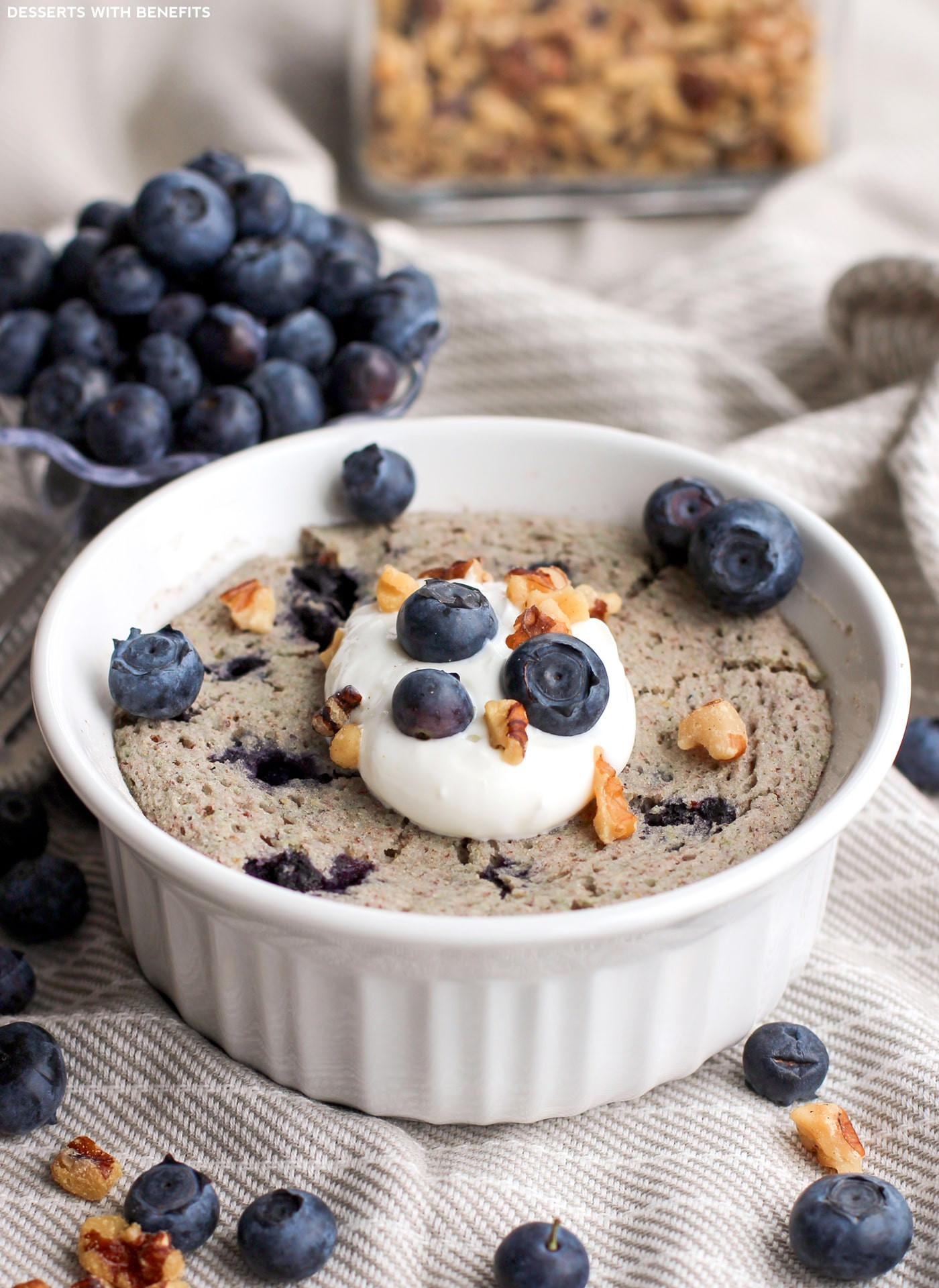 Healthy Blueberry Desserts  Desserts With Benefits Healthy Single Serving Blueberry