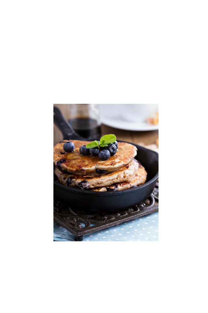 Healthy Blueberry Pancakes  Easy Healthy Blueberry Pancakes