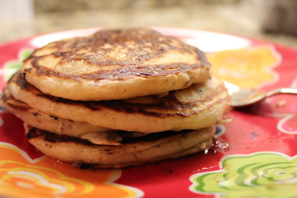 Healthy Blueberry Pancakes  Healthy Blueberry Pancakes for e