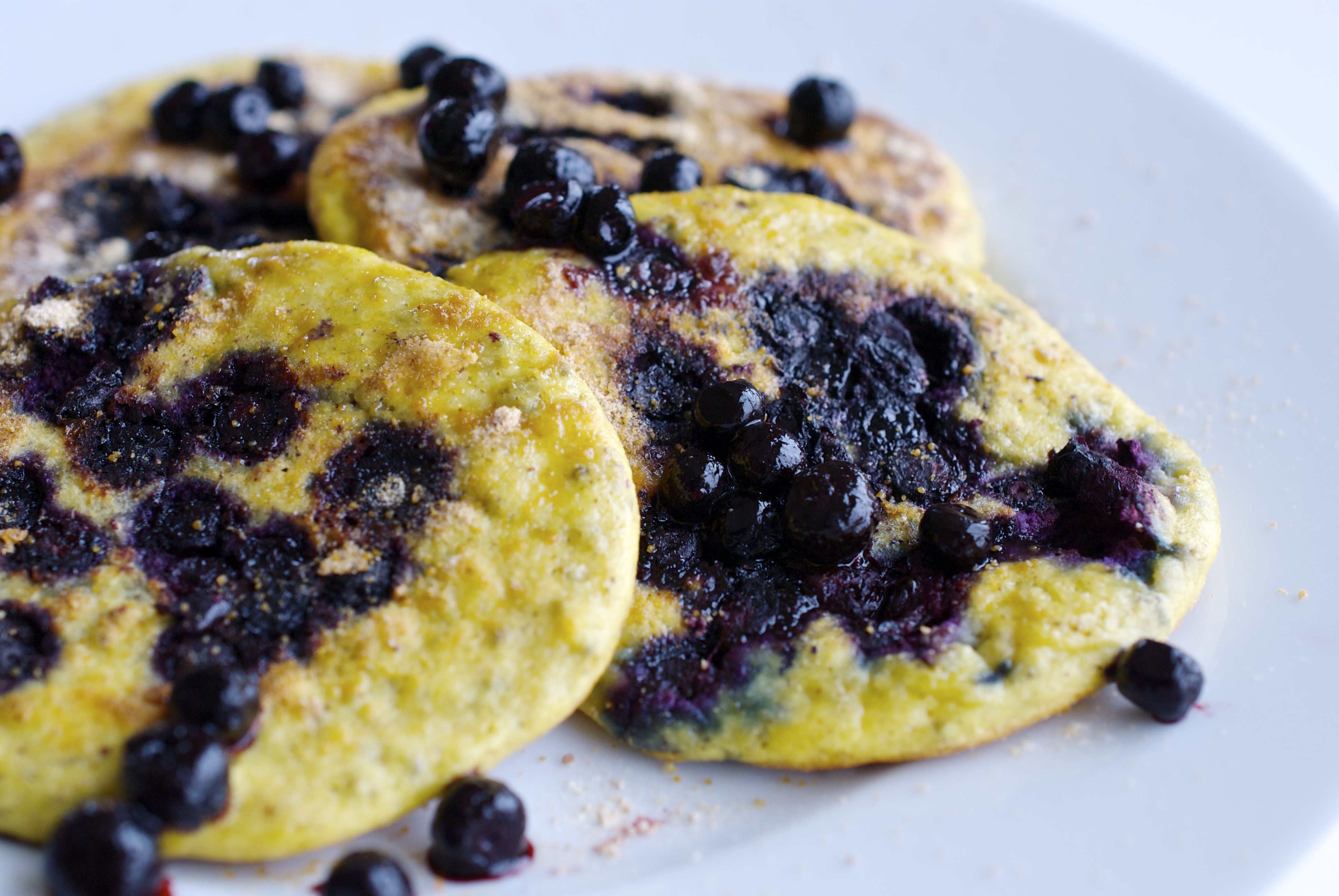 Healthy Blueberry Pancakes  Healthy blueberry pancakes