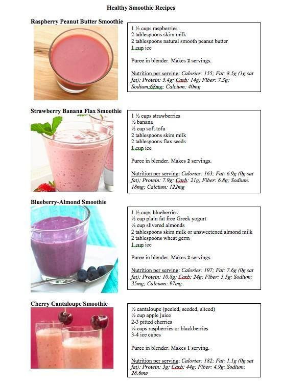 Healthy Blueberry Smoothie Recipes For Weight Loss  164 best images about Le Vel on Pinterest