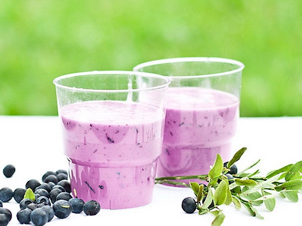 Healthy Blueberry Smoothie Recipes For Weight Loss  Blueberry Peach Banana Ice Cream Smoothie – Top Healthy