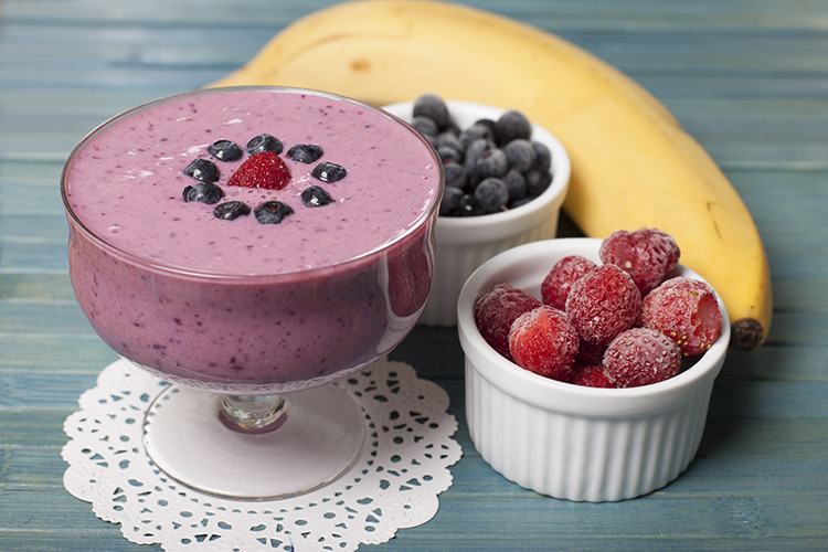Healthy Blueberry Smoothie Recipes For Weight Loss  Smoothie Recipes for weight Loss Banana Blueberry