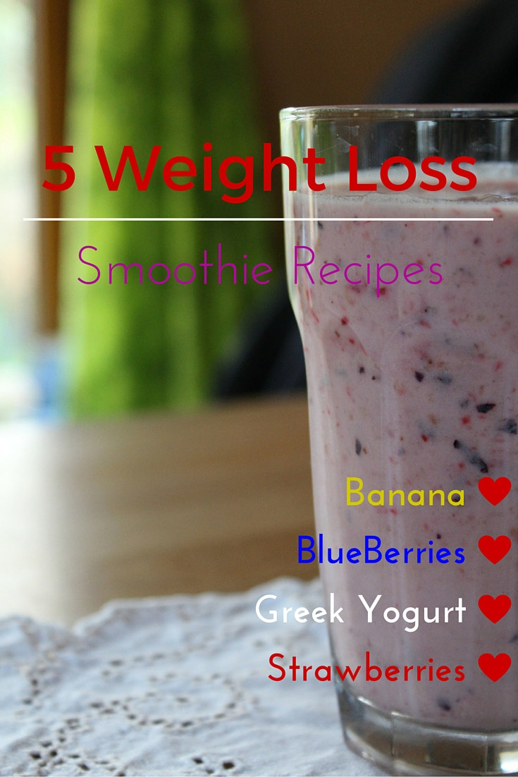 Healthy Blueberry Smoothie Recipes For Weight Loss  Healthy Smoothie Recipes Strawberry Blueberry Banana