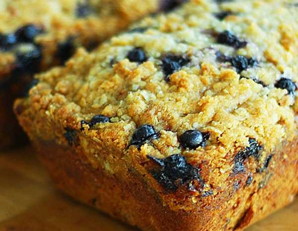 Healthy Blueberry Zucchini Bread  How to Bake The Best Quick Breads