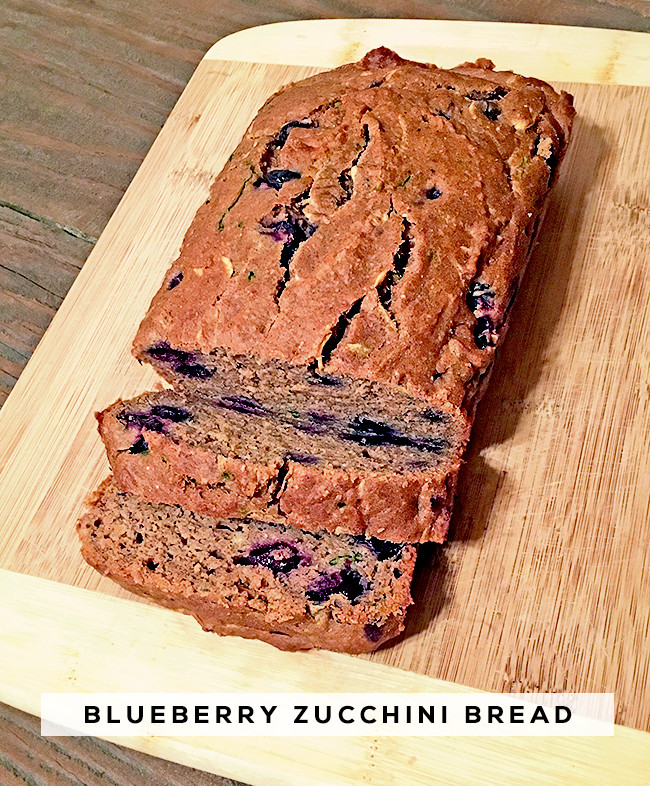 Healthy Blueberry Zucchini Bread  Bubby and Bean Living Creatively Blueberry Zucchini