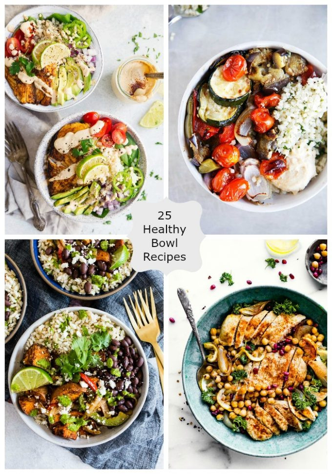 Healthy Bowl Recipes  25 Healthy Bowl Recipes
