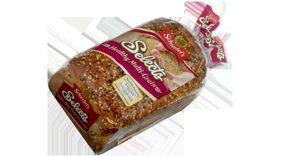 Healthy Bread Brands  Selects Healthy Multi Grain Schwebel s Freshly Baked Bread