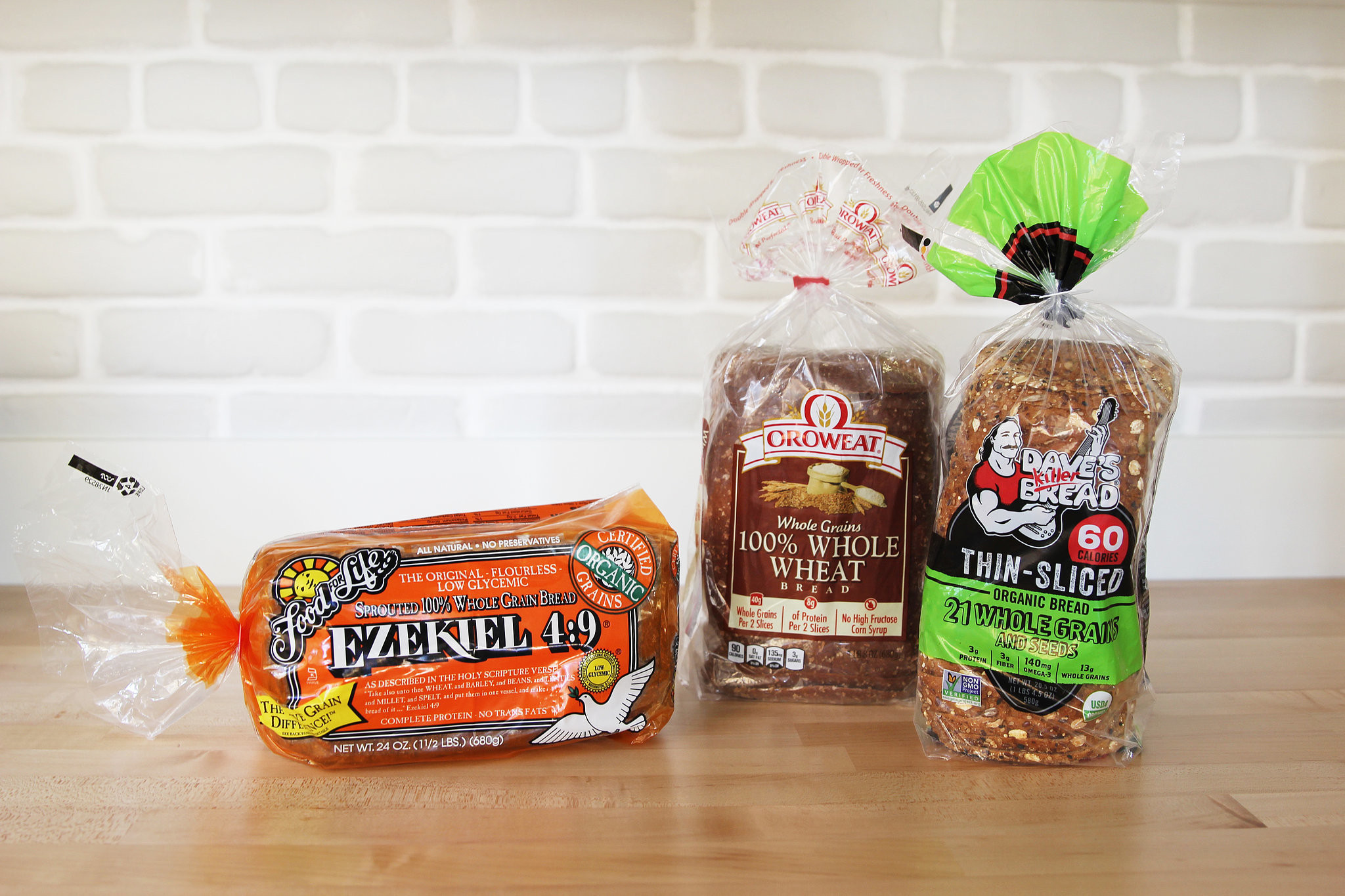 Healthy Bread Brands  Nutritionist Re mended Healthiest Breads