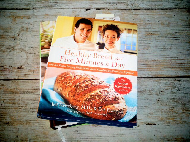 Healthy Bread In 5 Minutes A Day  Healthy Bread in Five Minutes a Day Cookbook giveaway