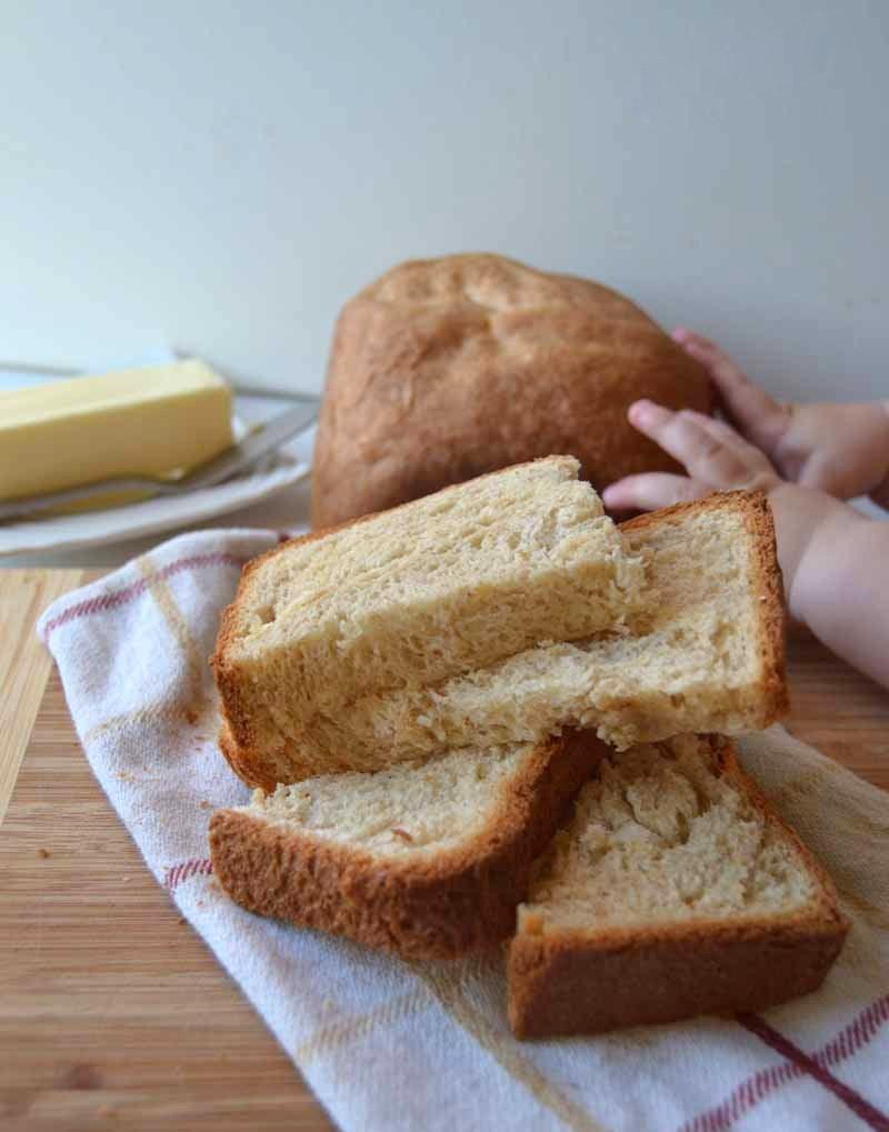 Healthy Bread Maker Recipes  Easy bread machine recipe Homegrown & Healthy