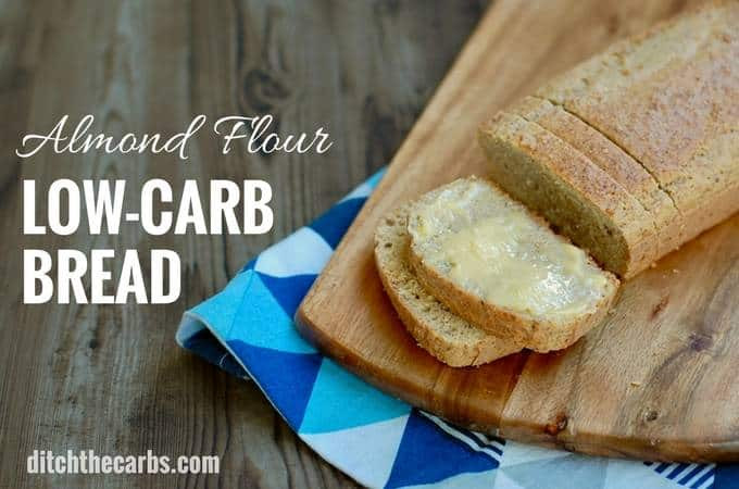 Healthy Bread Options  Low Carb Almond Flour Bread THE recipe everyone is going