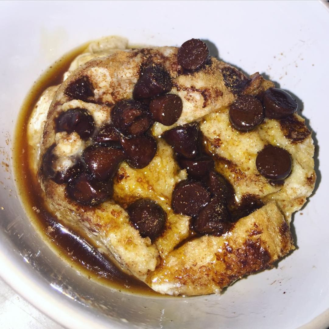 "Healthy Bread Pudding 20 Ideas for ash S Healthy Bread and ""butter"" Pudding From Lose Baby Weight"