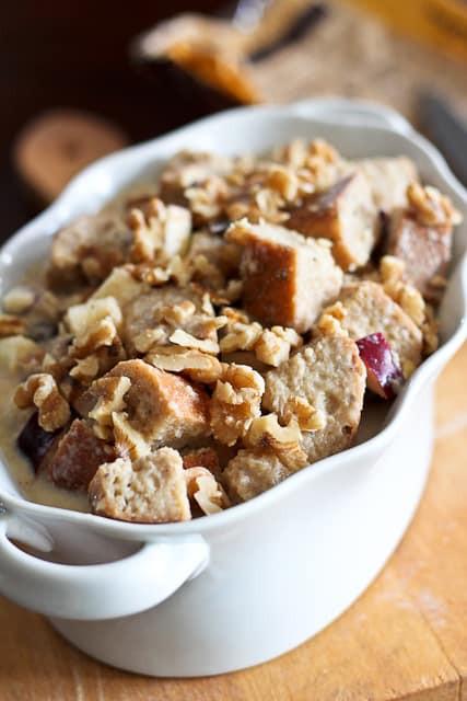 Healthy Bread Pudding  Apple Cinnamon Bread Pudding Recipe — Dishmaps
