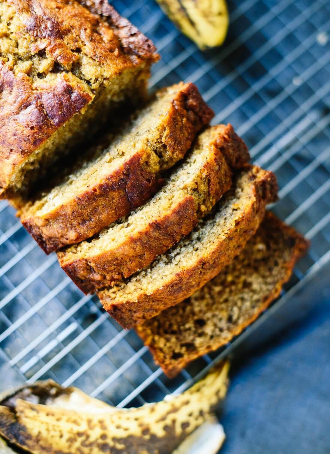 Healthy Bread Recipe  Healthy Banana Bread Recipe Cookie and Kate