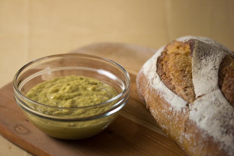Healthy Bread Spread  Vegan Garlic Tarragon Bread Spread Veganbaking