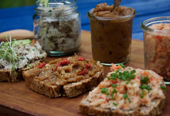 Healthy Bread Spread  Go Healthy 3 Bread Spreads from Savory to Sweet