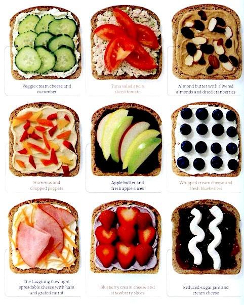 Healthy Bread Spread  Healthy Bread and Spread binations Girls T O