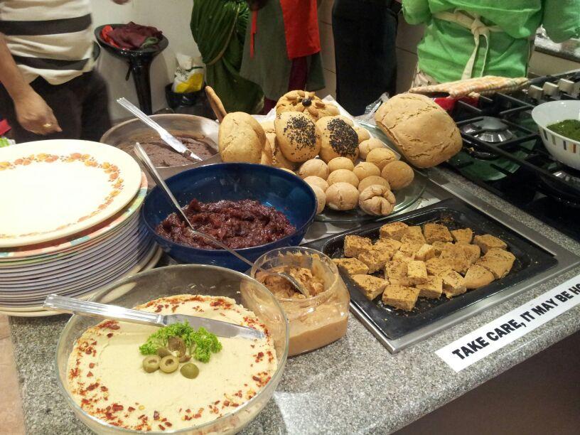 Healthy Bread Spread  Mumbai Vegans Healthy breads & Spreads Workshop 2013