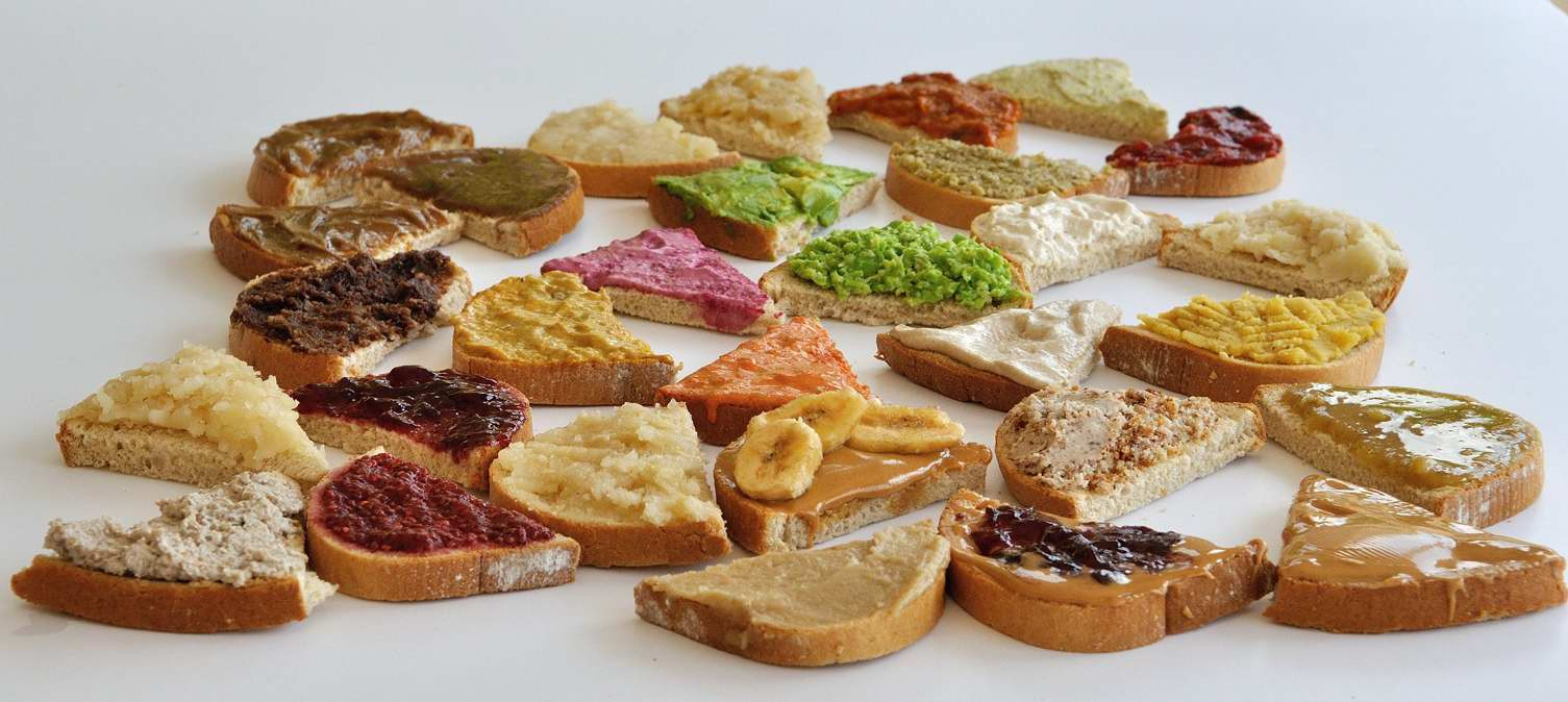 Healthy Bread Spread  Vegan Sandwich Spread Options