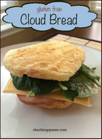 Healthy Bread Substitute  Dairy Free Gluten Free Cloud Bread Recipe Cha Ching Queen