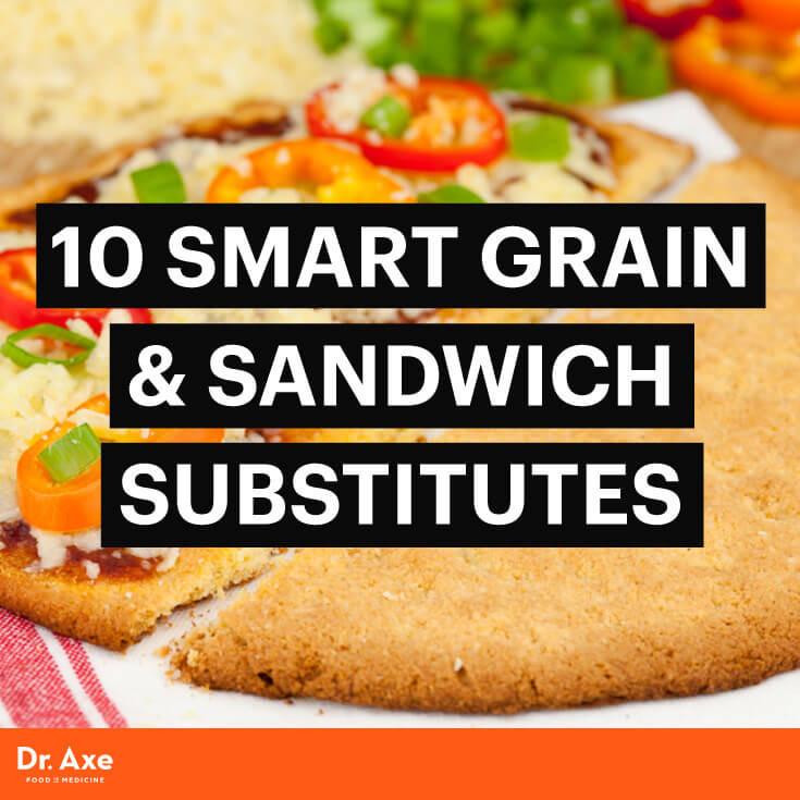 Healthy Bread Substitute  10 Smart Grain & Sandwich Substitutes Dr Axe
