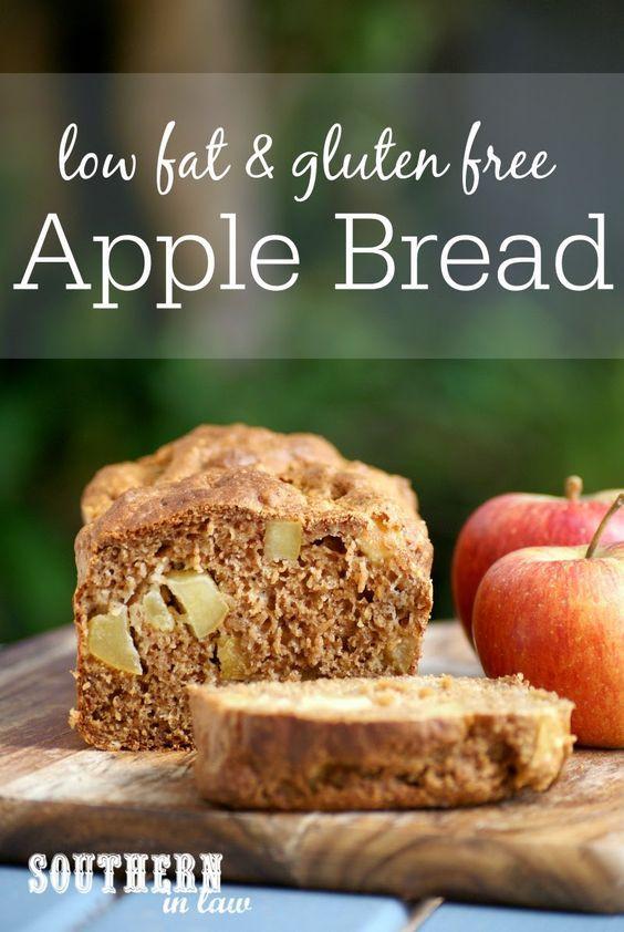 Healthy Bread Substitute  Recipe Healthy Apple Bread