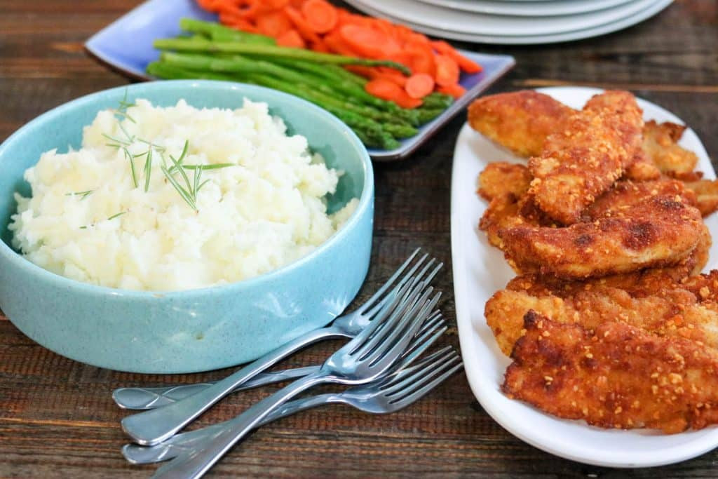 Healthy Breaded Chicken Tenders  Crispy Cheesy Breaded Chicken Tenders GIVEAWAY Kylee Cooks