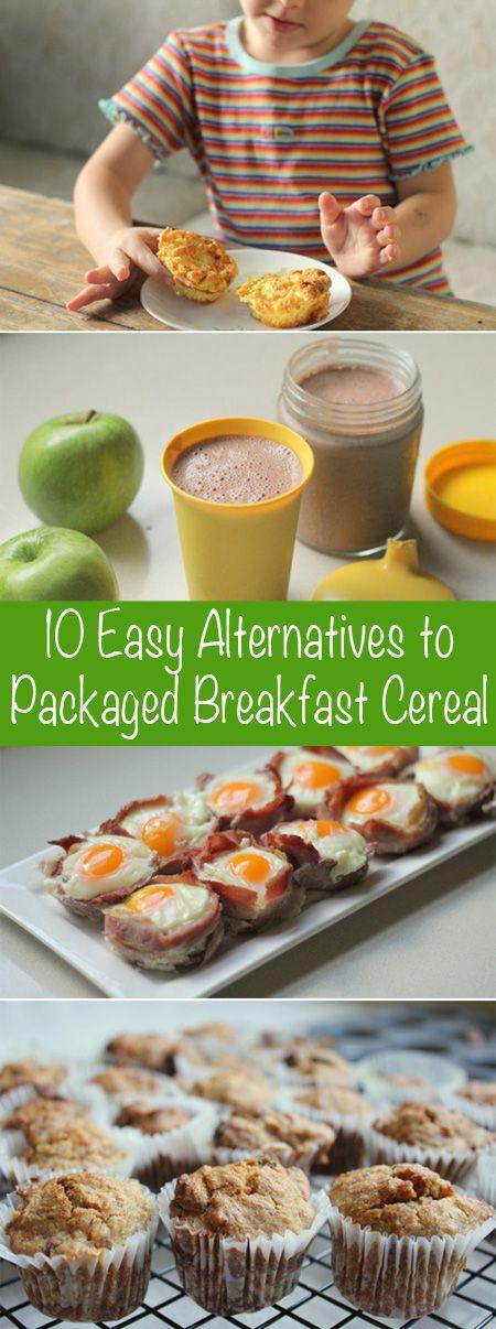Healthy Breakfast Alternatives  10 Easy & Healthy Alternatives to Packaged Breakfast