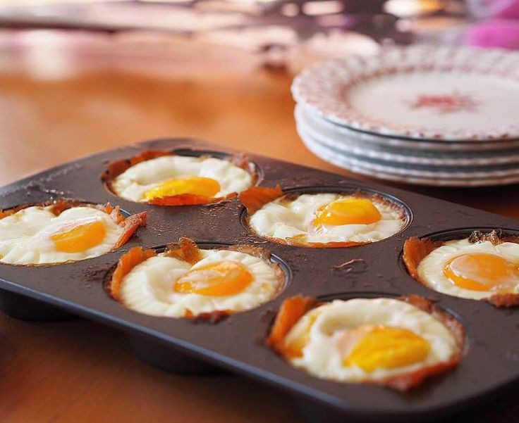 Healthy Breakfast Baked Goods  Good & Healthy Breakfasts Baked Smoked Salmon and Egg