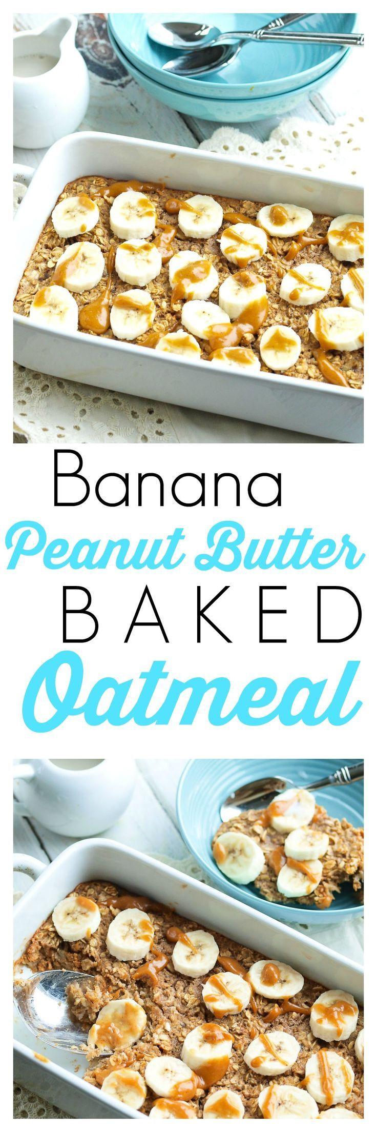 Healthy Breakfast Baked Goods  Good & Healthy Breakfasts Banana Peanut Butter Baked