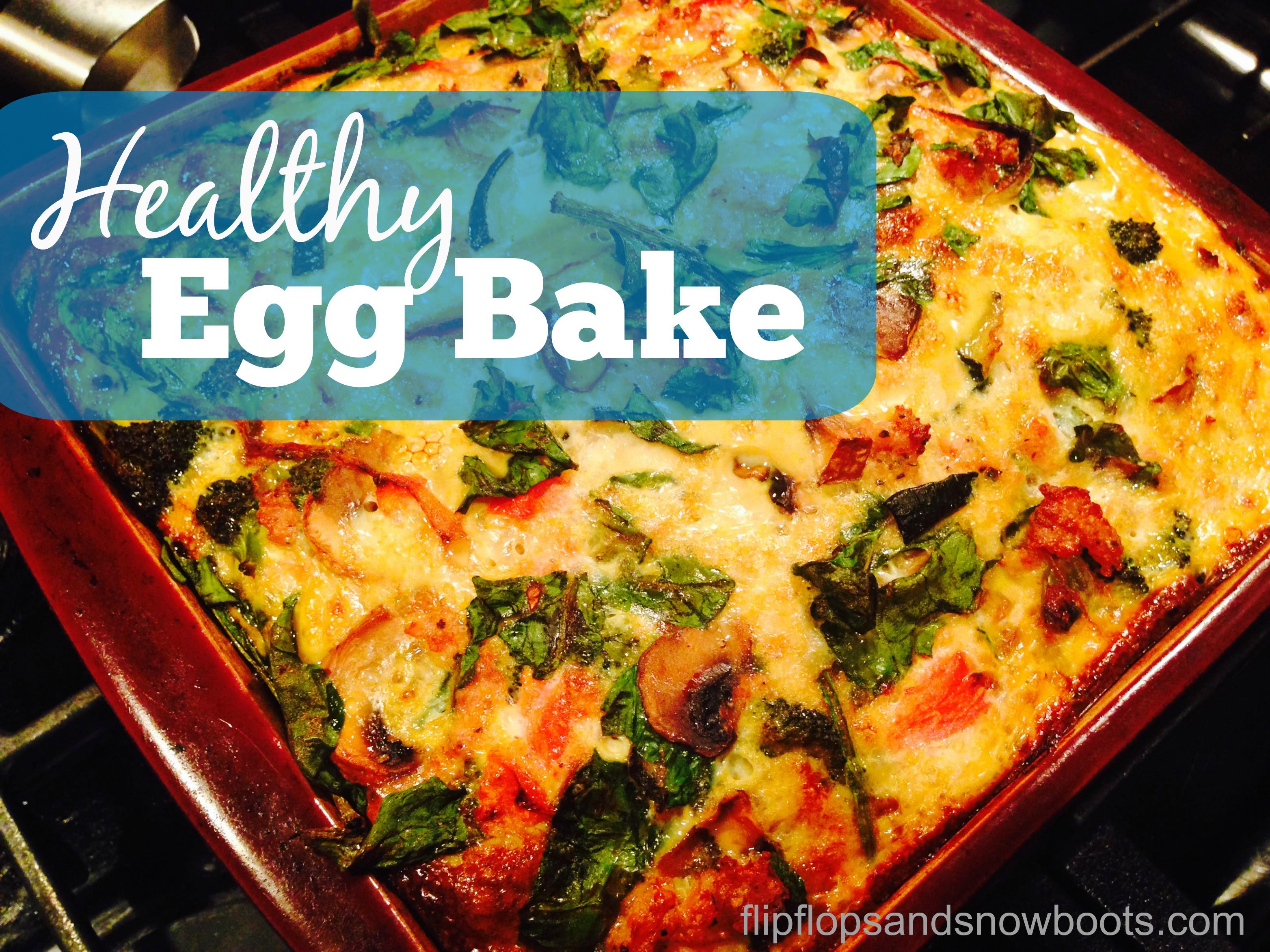 Healthy Breakfast Bakes  healthy egg bake casserole