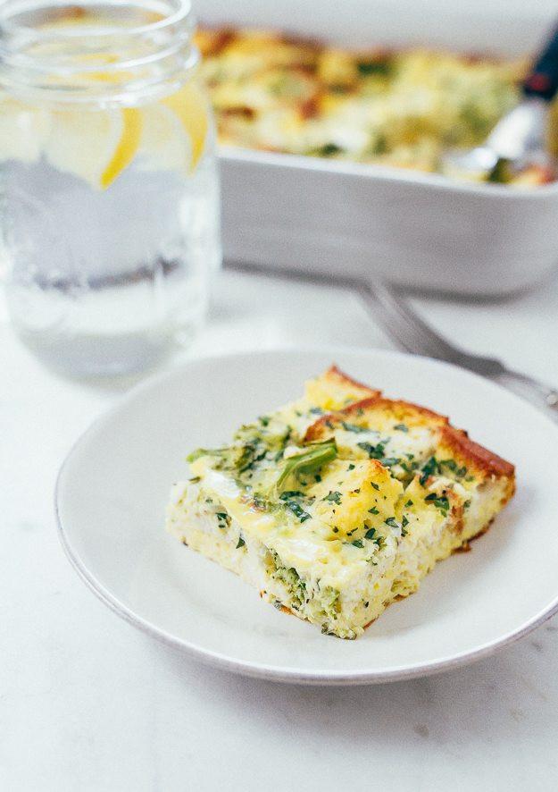 Healthy Breakfast Bakes  Make Ahead Healthy Breakfast Casserole