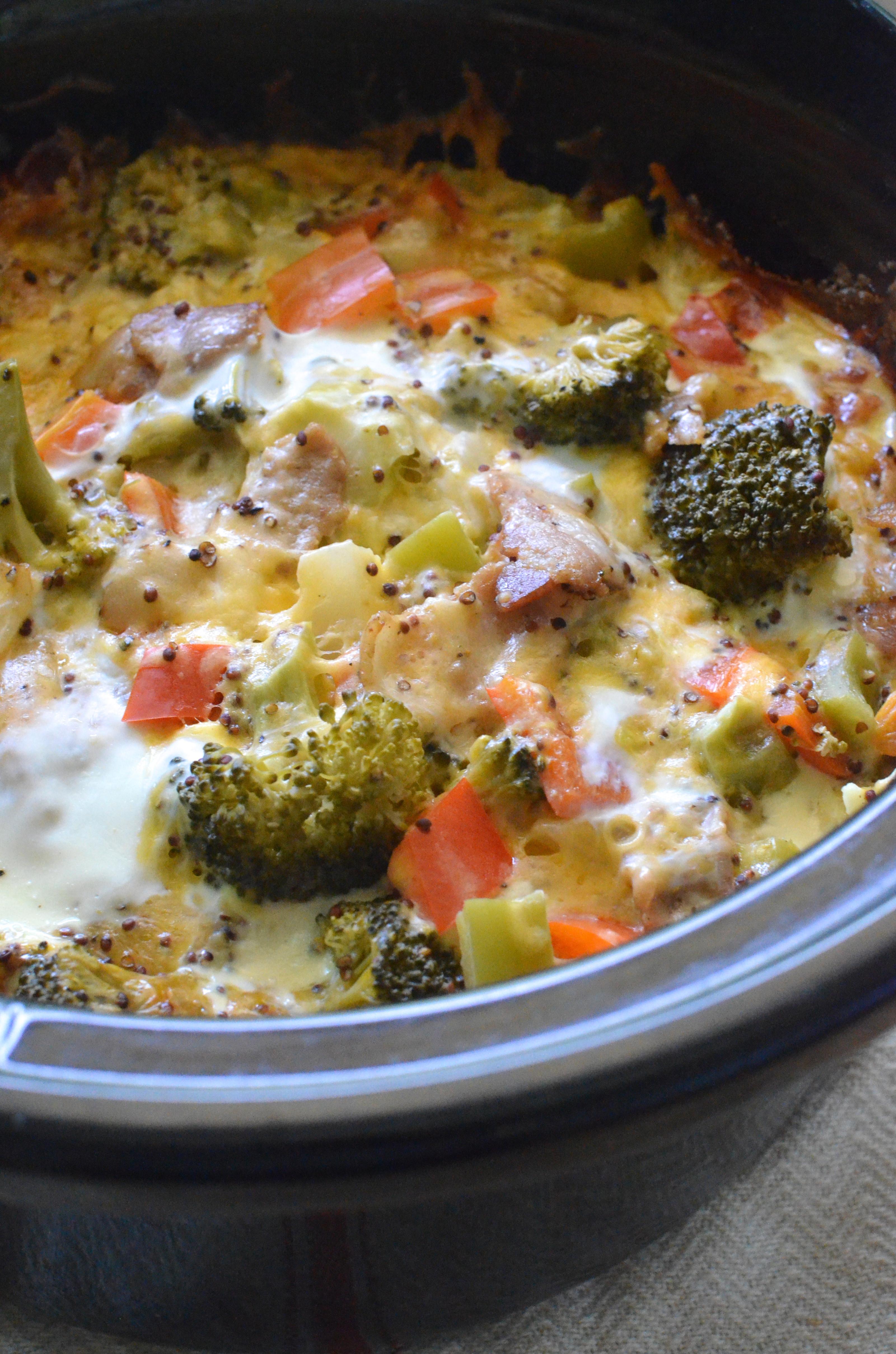 Healthy Breakfast Bakes  Healthy Crockpot Breakfast Casserole