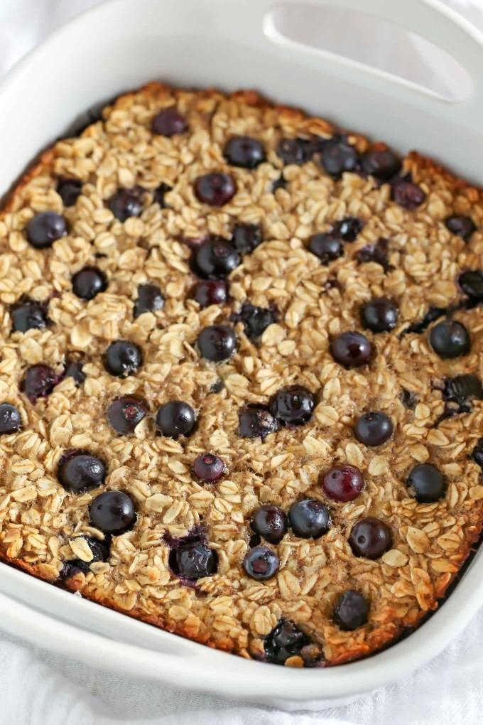 Healthy Breakfast Baking Recipes  Blueberry Banana Baked Oatmeal Live Well Bake ten