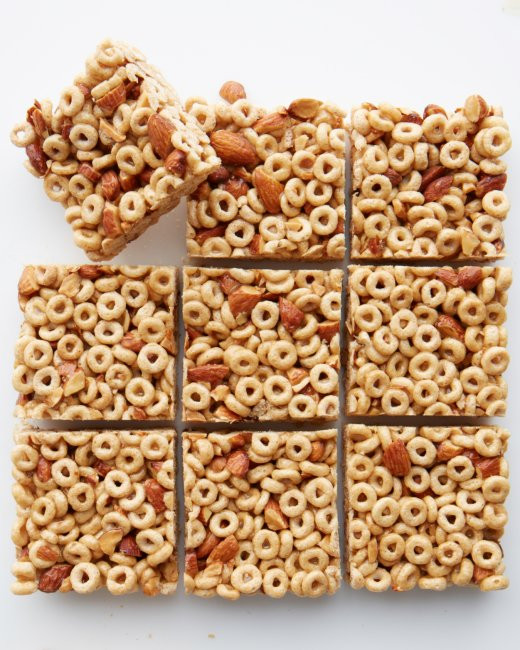 Healthy Breakfast Bars  Easy Healthy DIY Breakfast Cereal Bars Cloud b