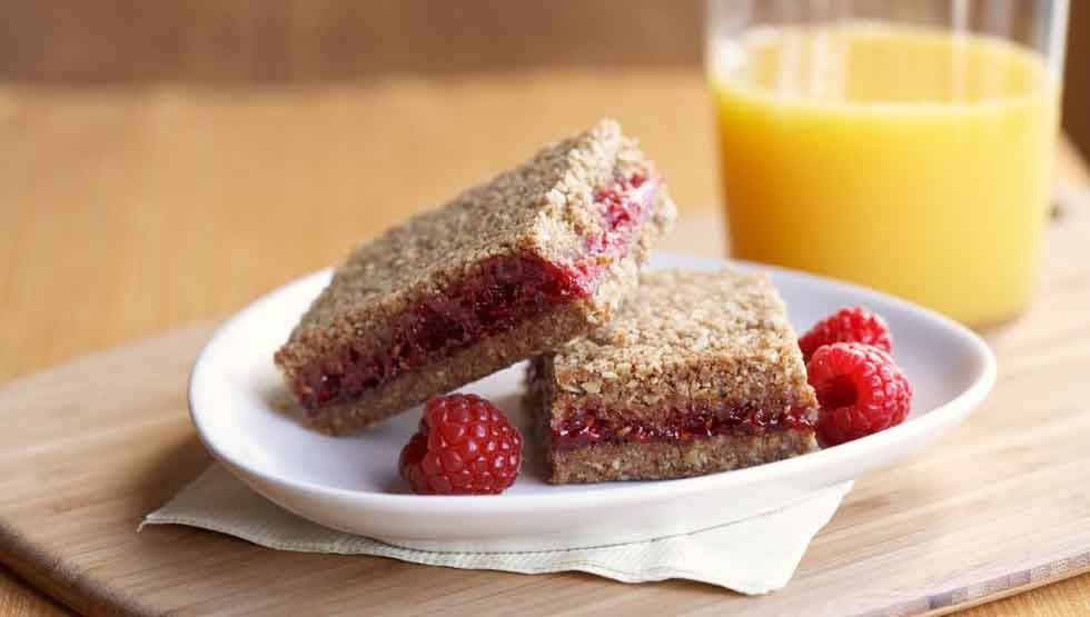 Healthy Breakfast Bars Recipe the Best Healthy Breakfast Bar Recipe whole Grain Raspberry