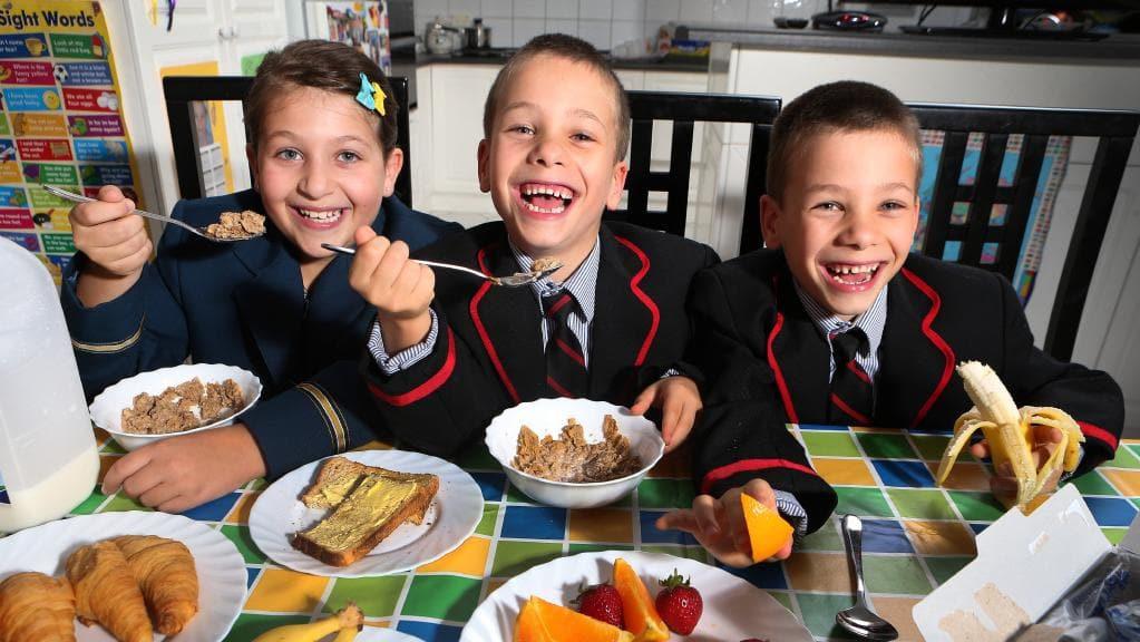 Healthy Breakfast Before School  e in five SA kids skip breakfast research reveals