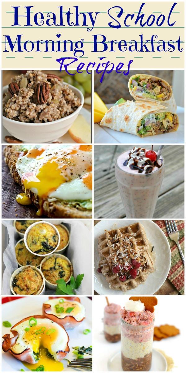 Healthy Breakfast Before School  24 of the Best Healthy School Morning Breakfast Recipes