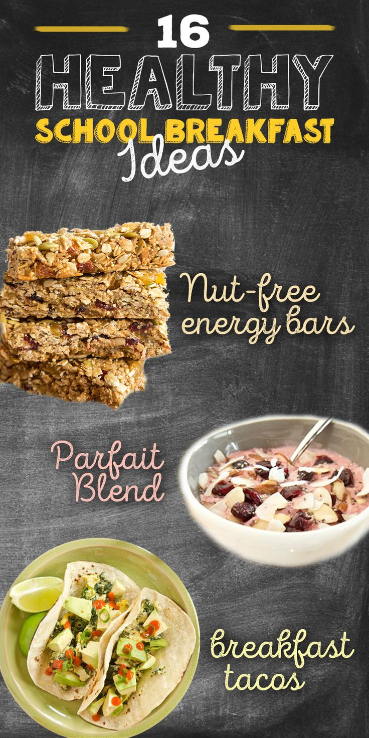 Healthy Breakfast Before School  17 Best images about PARENTING TIPS on Pinterest