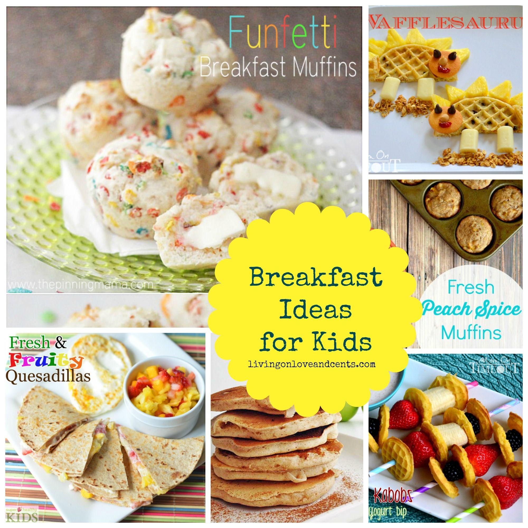 Healthy Breakfast Before School  Easy School Morning Breakfast Ideas for Kids