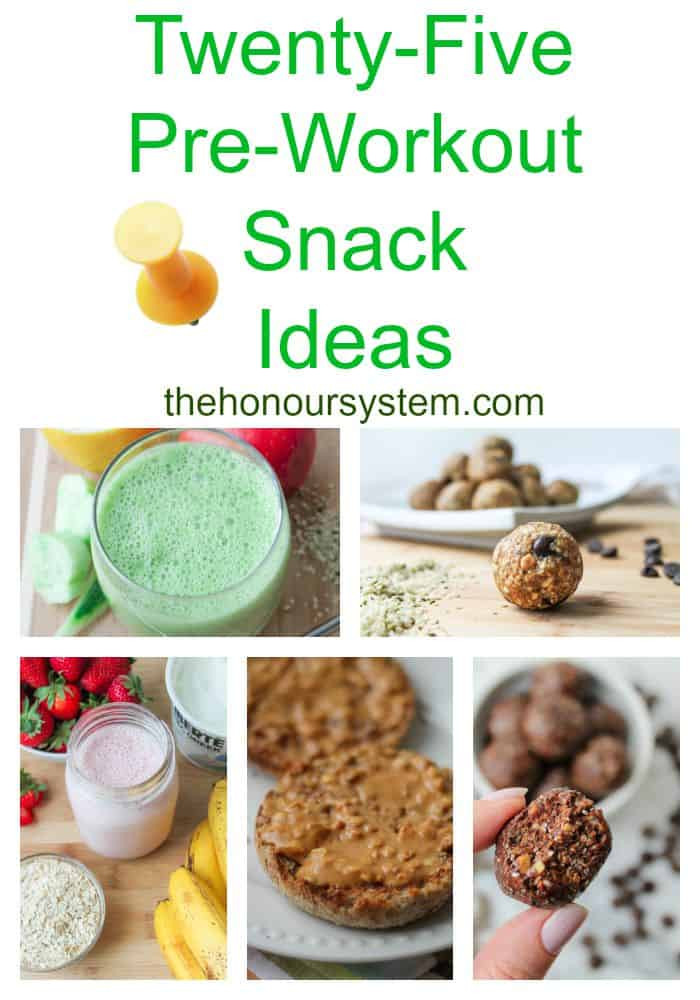 Healthy Breakfast Before Workout  Twenty Five Pre Workout Snack Ideas The Honour System