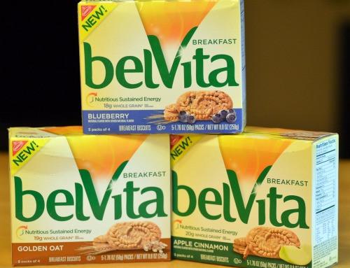 Healthy Breakfast Biscuits  Five Days of belVita Breakfast