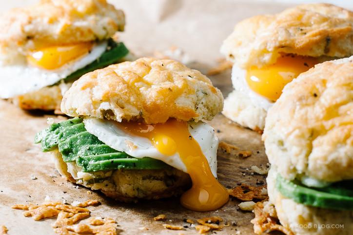 Healthy Breakfast Biscuits  Sunday Brunch Mini Breakfast Biscuit Sandwich Recipe · i