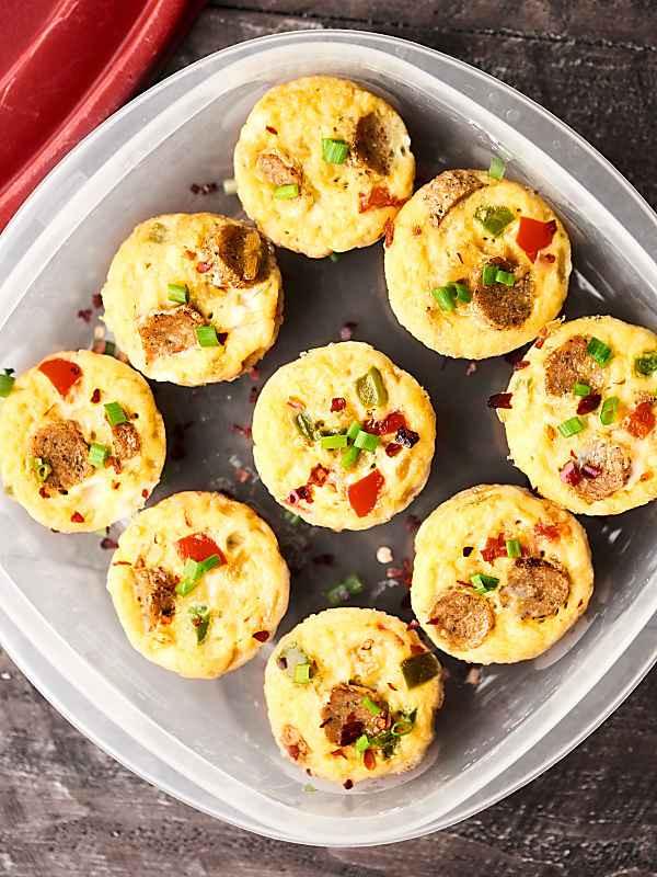 Healthy Breakfast Bites  Healthy Breakfast Casserole Bites Freezer Friendly 29
